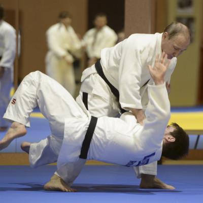 Vladimir Putin judo