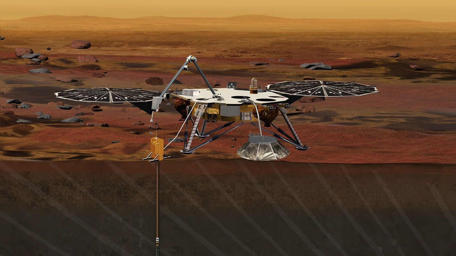 InSight Mars lander