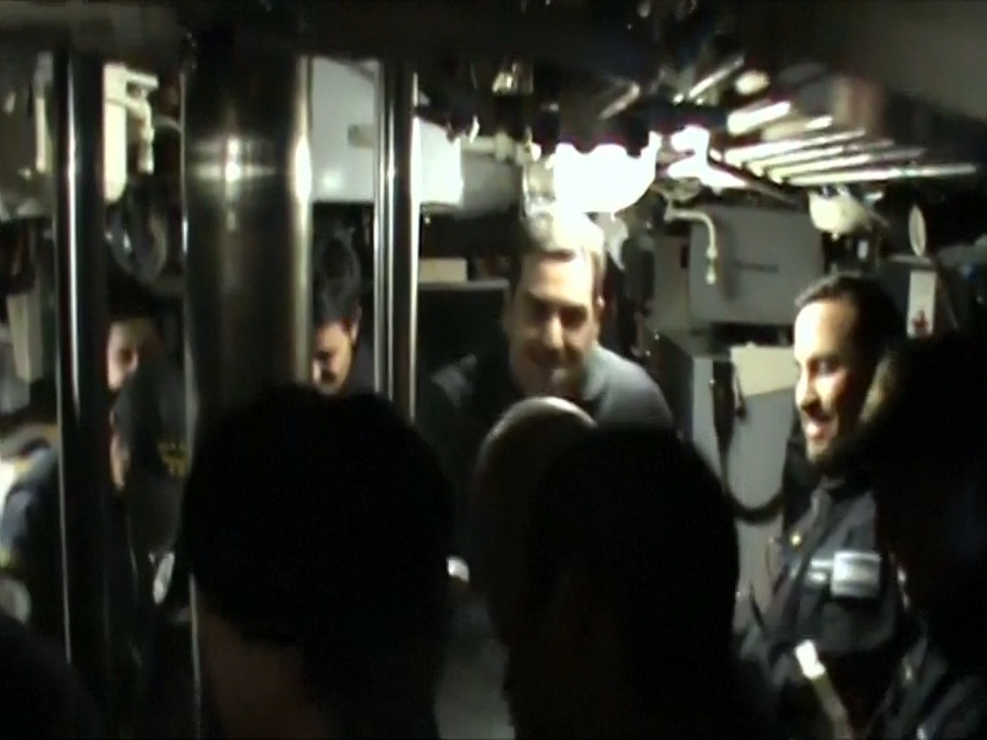 Watch Moment Crew Of Missing Argentine Submarine Celebrate Its Return To Service In 2014