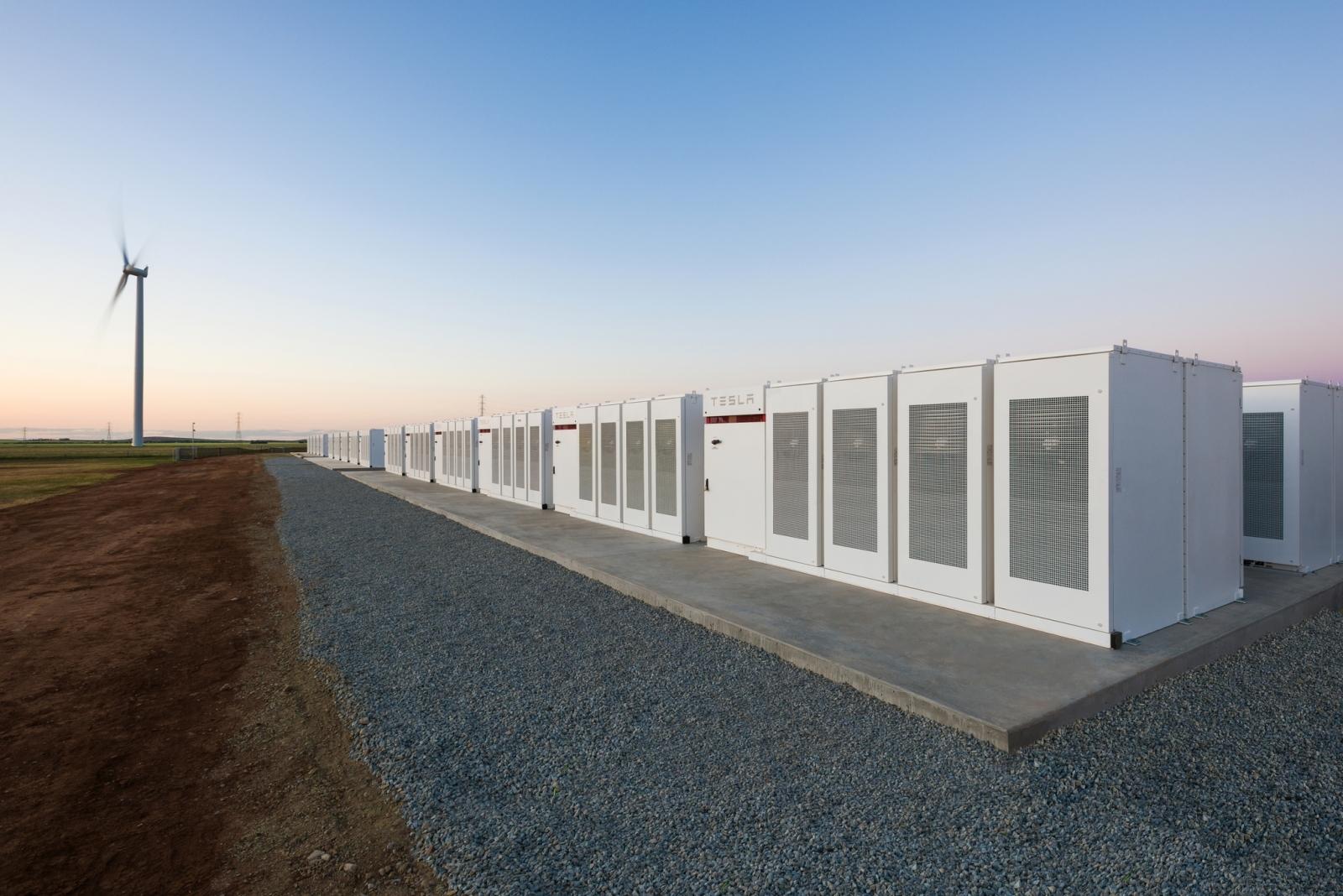 Tesla South Australia Powerpacks