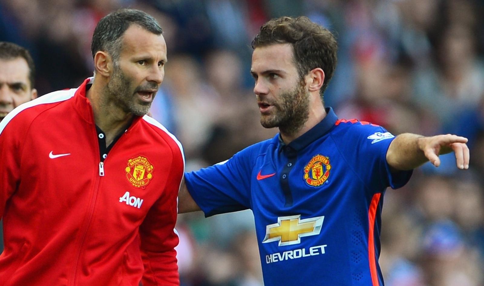 Juan Mata and Ryan Giggs