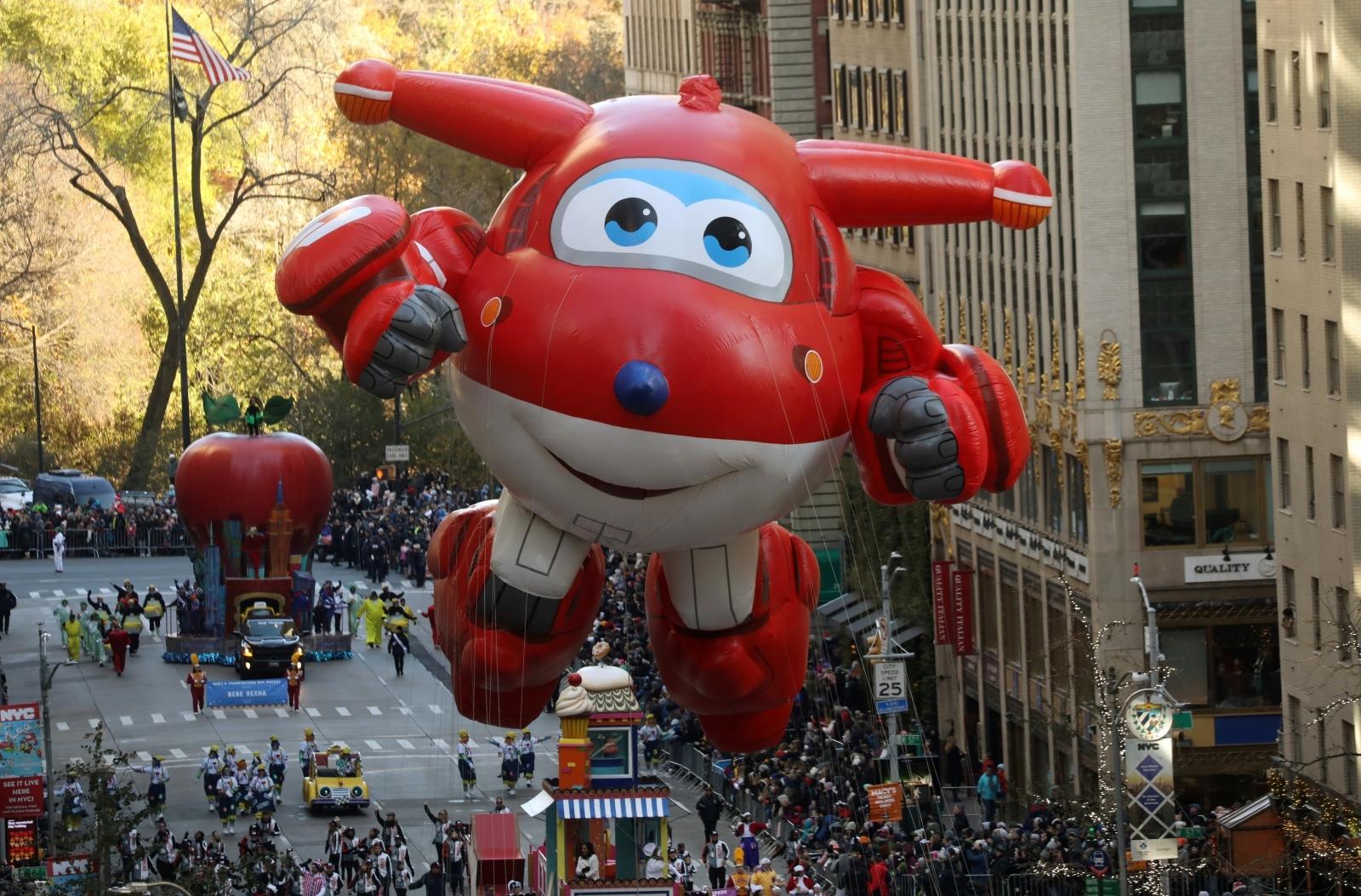 Macys Thanksgiving Parade balloons 2017