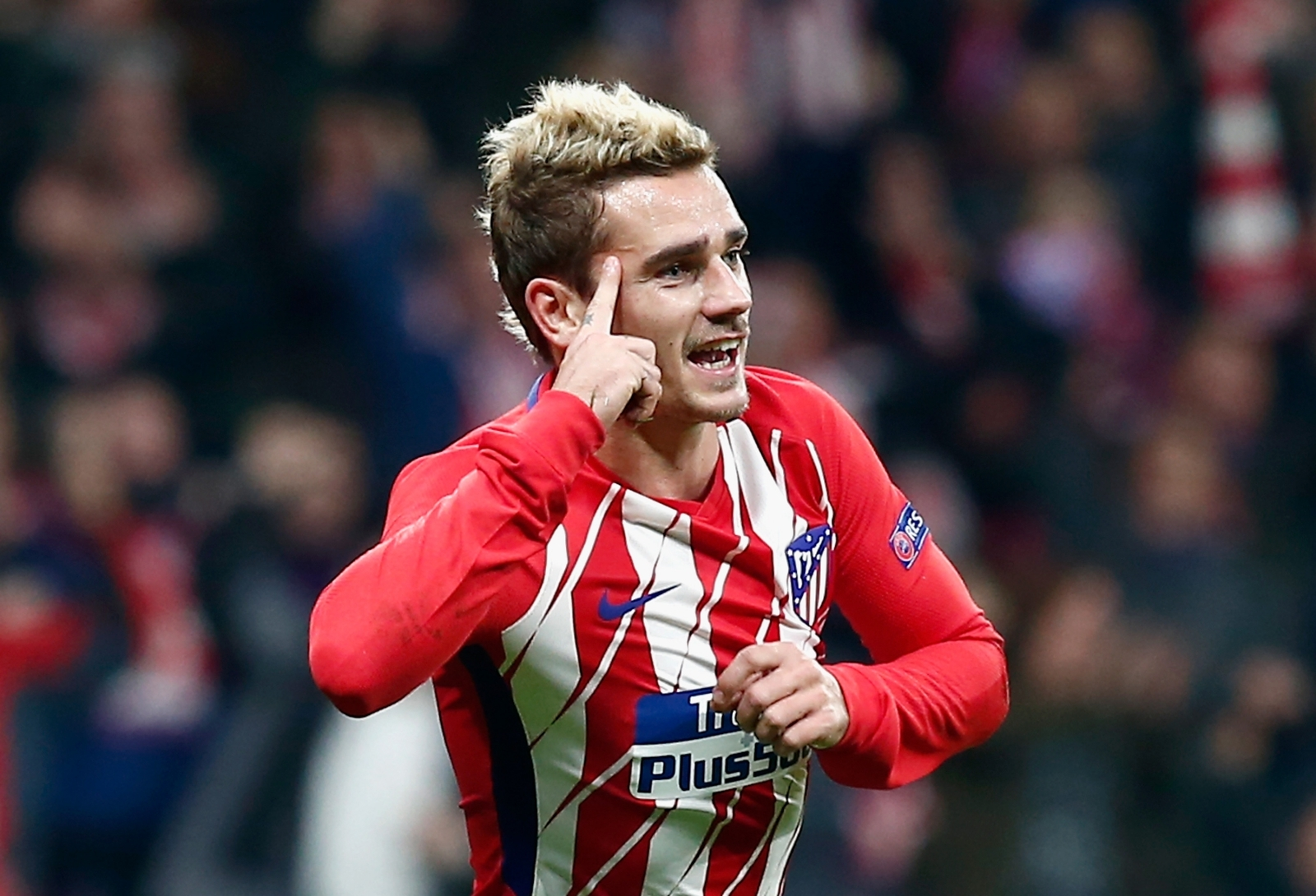 Struggling Griezmann does not regret Atletico stay