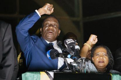 Emmerson Mnangagwa Zimbabwe President