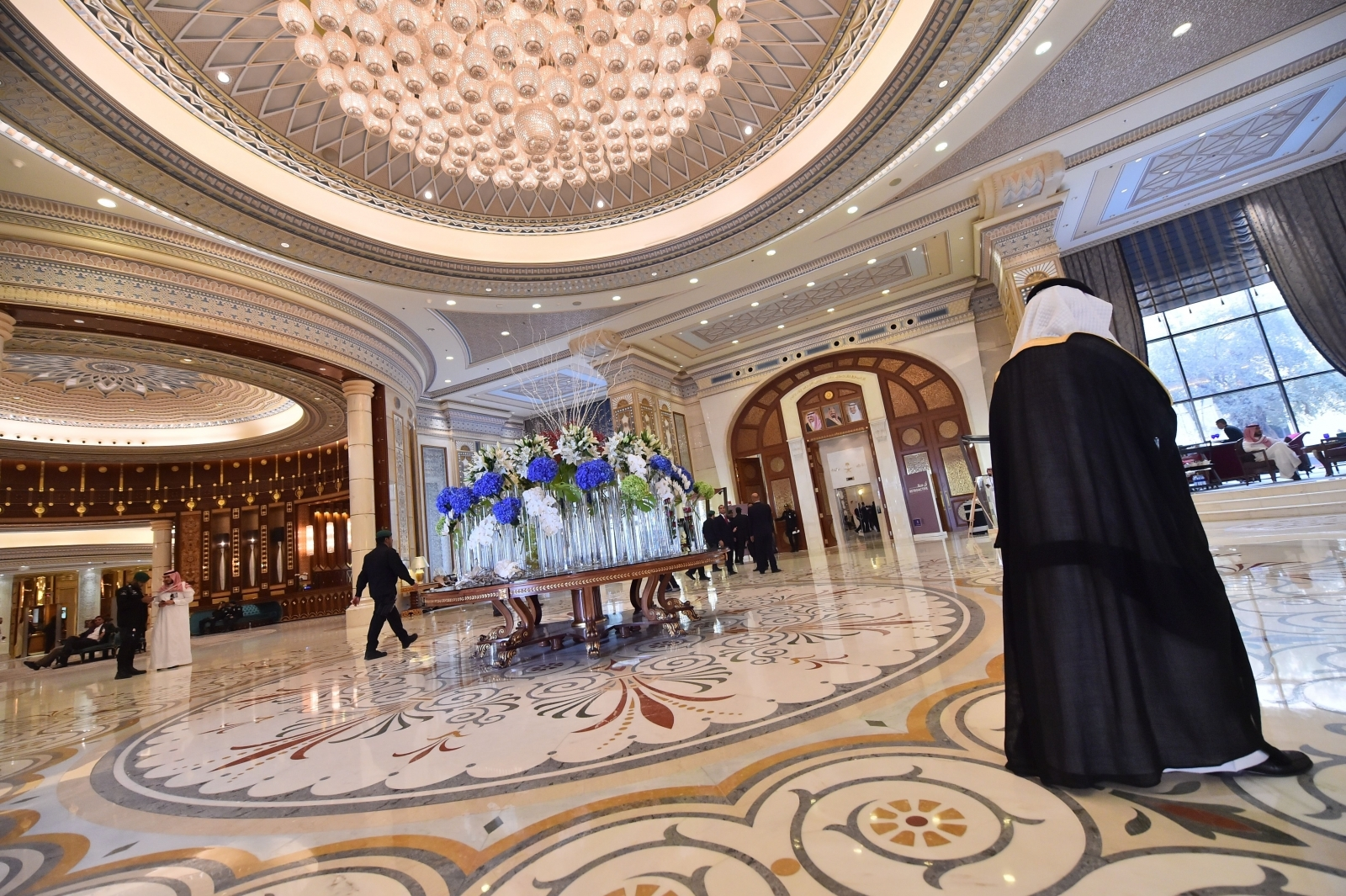 The five-star Ritz-Carlton in Riyadh where dozens of royal figures, ministers and businessmen are detained by Saudi authorities