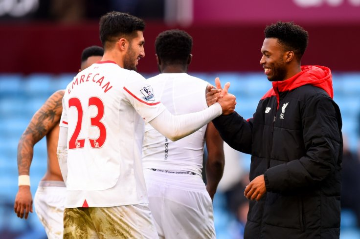 Emre Can and Daniel Sturridge