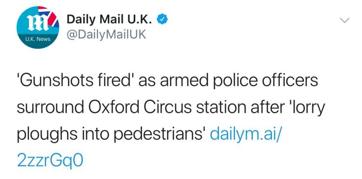 DM headline lorry attack