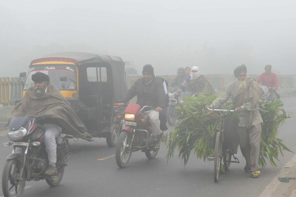 Haze in India