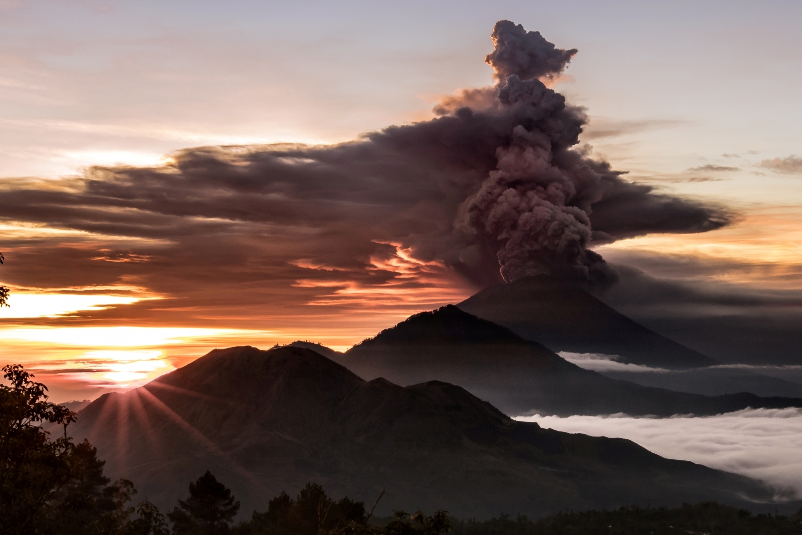 Mount Agung Red Warning Issued To Airlines Over