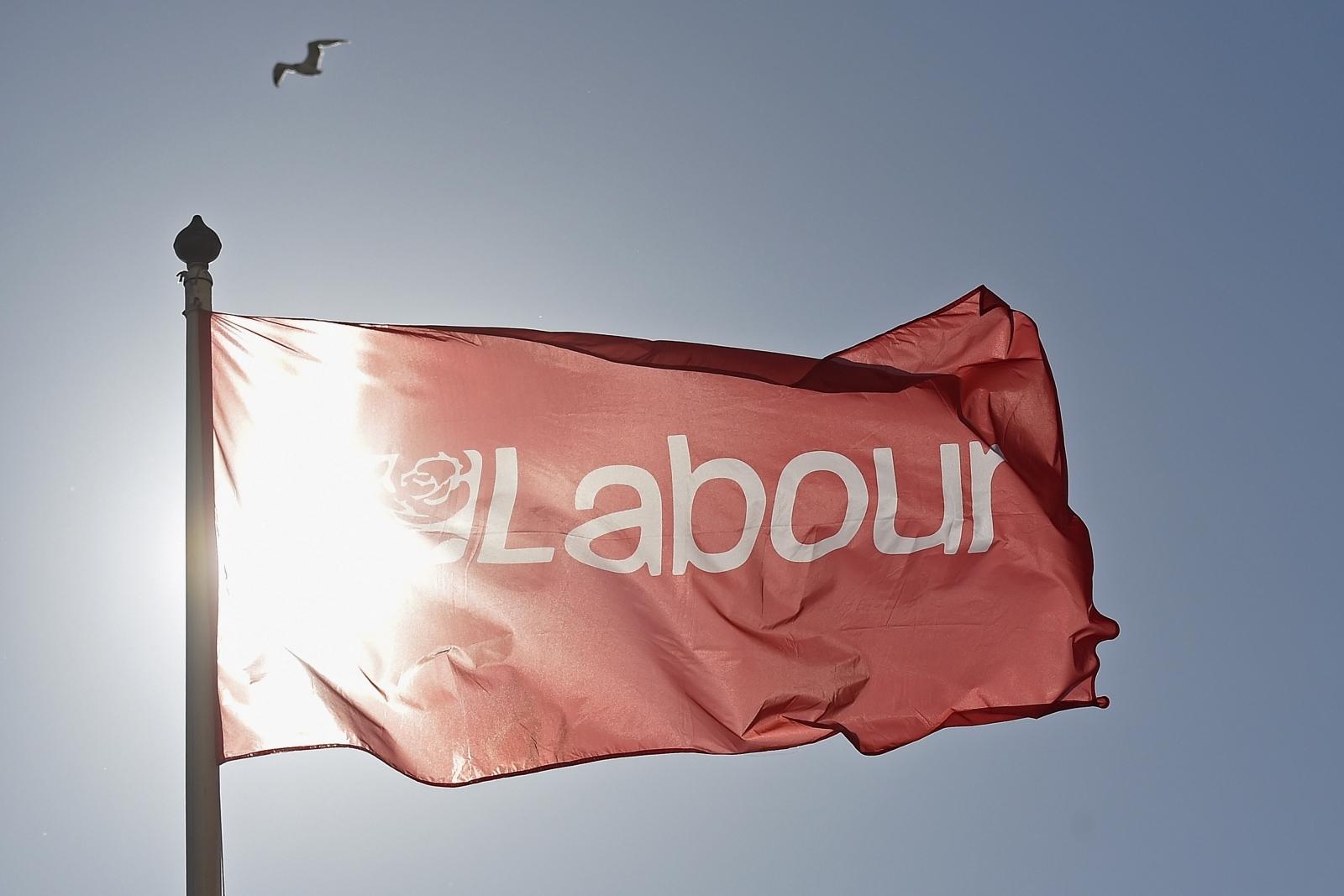 Labour party flag