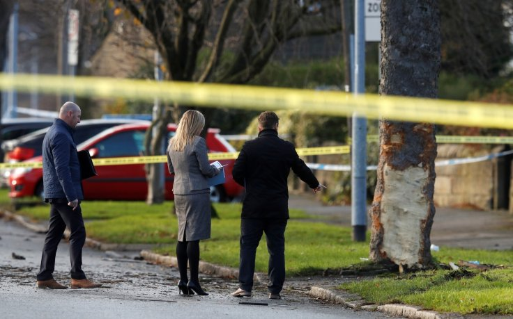 Authorities investigate Leeds crash scene