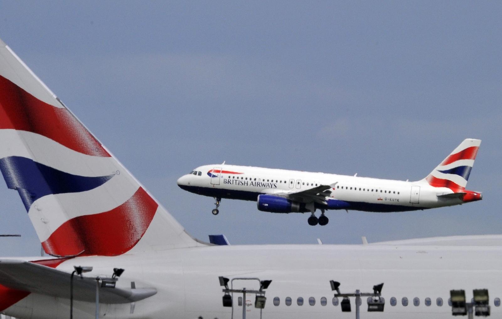 British Airways airliner