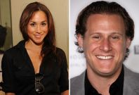 Meghan Markle and Trevor Engelson