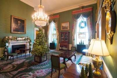 White House Christmas decorations 2017