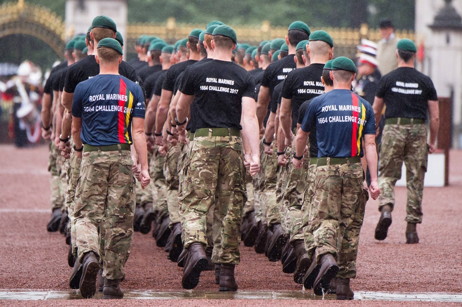 Royal Marine corporals forced soldiers to masturbate to gay porn and hung them upside down for failing to carry out routine tasks, a court martial heard