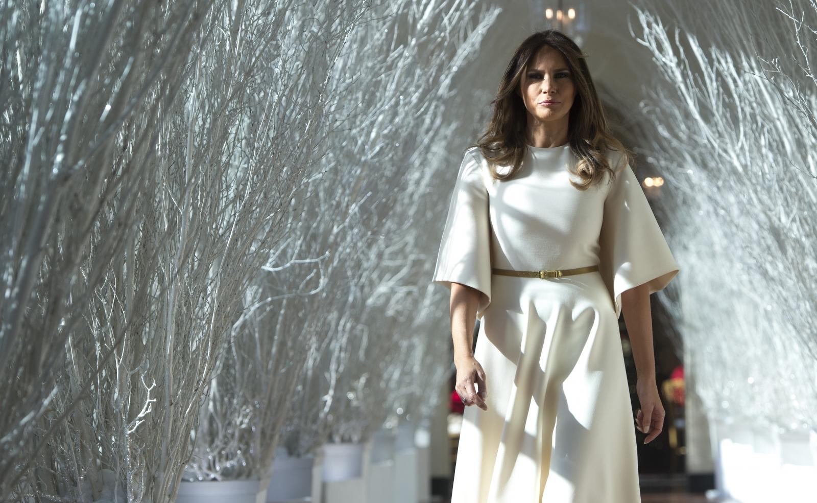 Melania Trump at the White House