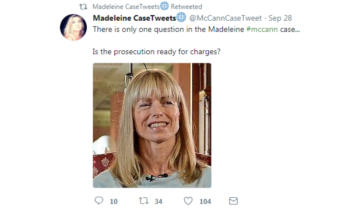 Madeleine mccann conspiracy politics