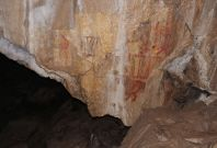 Camel cave painting