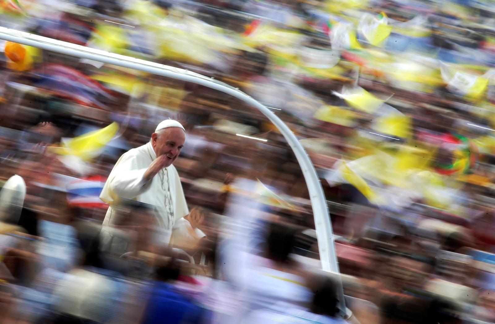 Pope Francis Myanmar