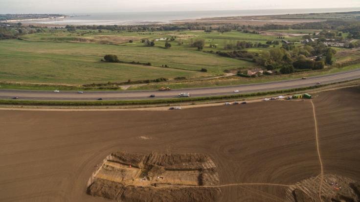 Caesar's invasion site