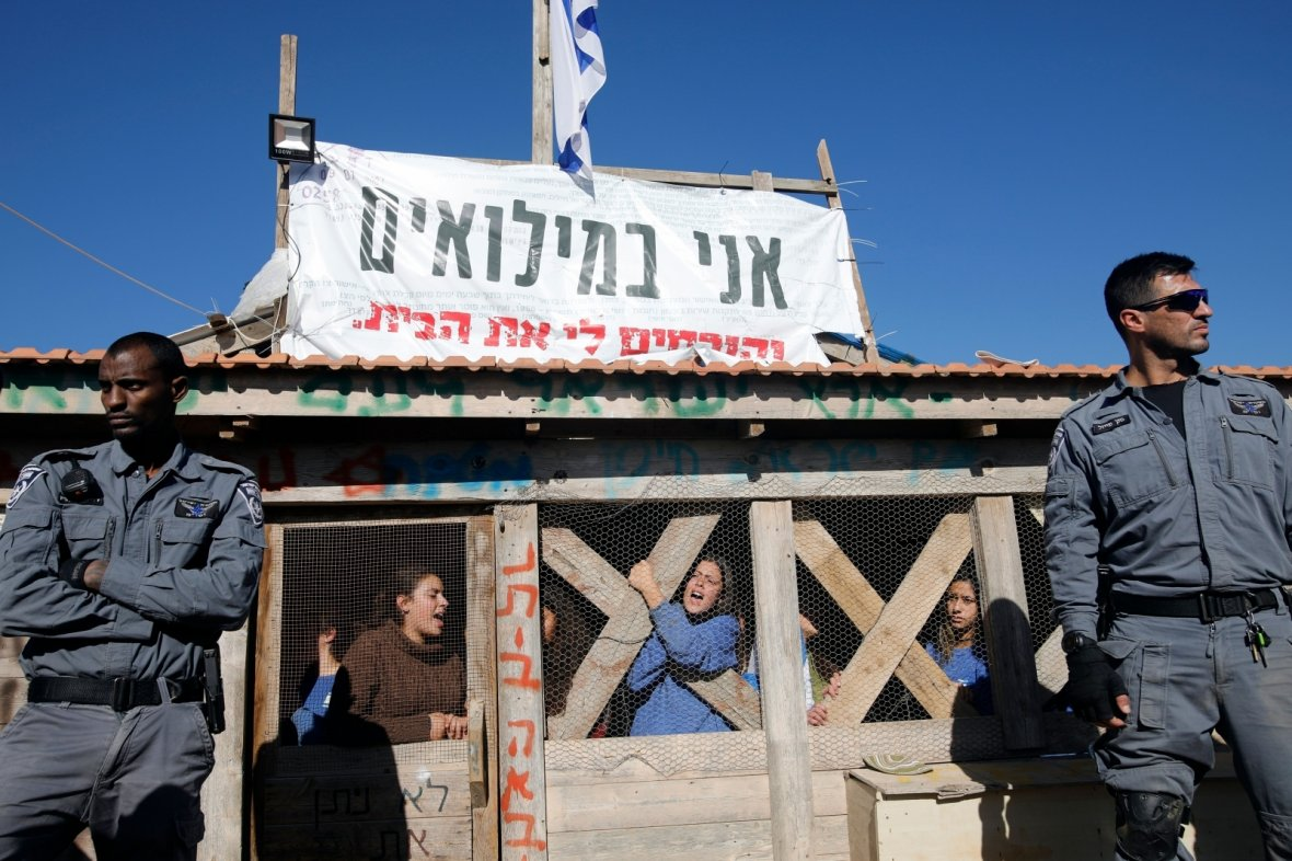 Israel settlers West Bank