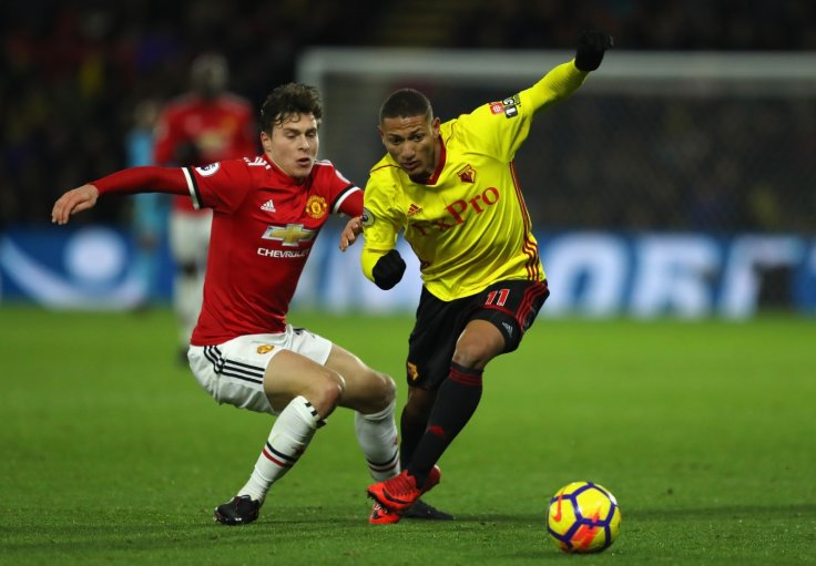 Richarlison and Victor Lindelof