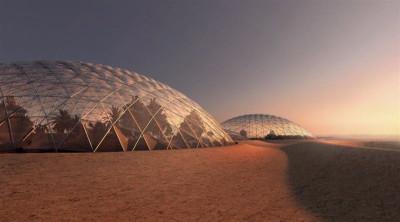 UAE Martian city