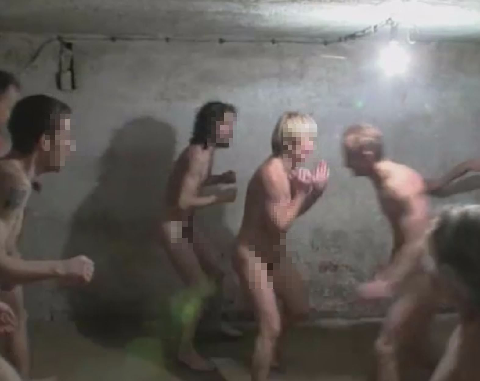 Holocaust Survivors Group Condemns Naked Nazi Gas Chamber Video