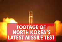 Video Shows Kim Jong-un Watching North Korea's Latest Missile Test