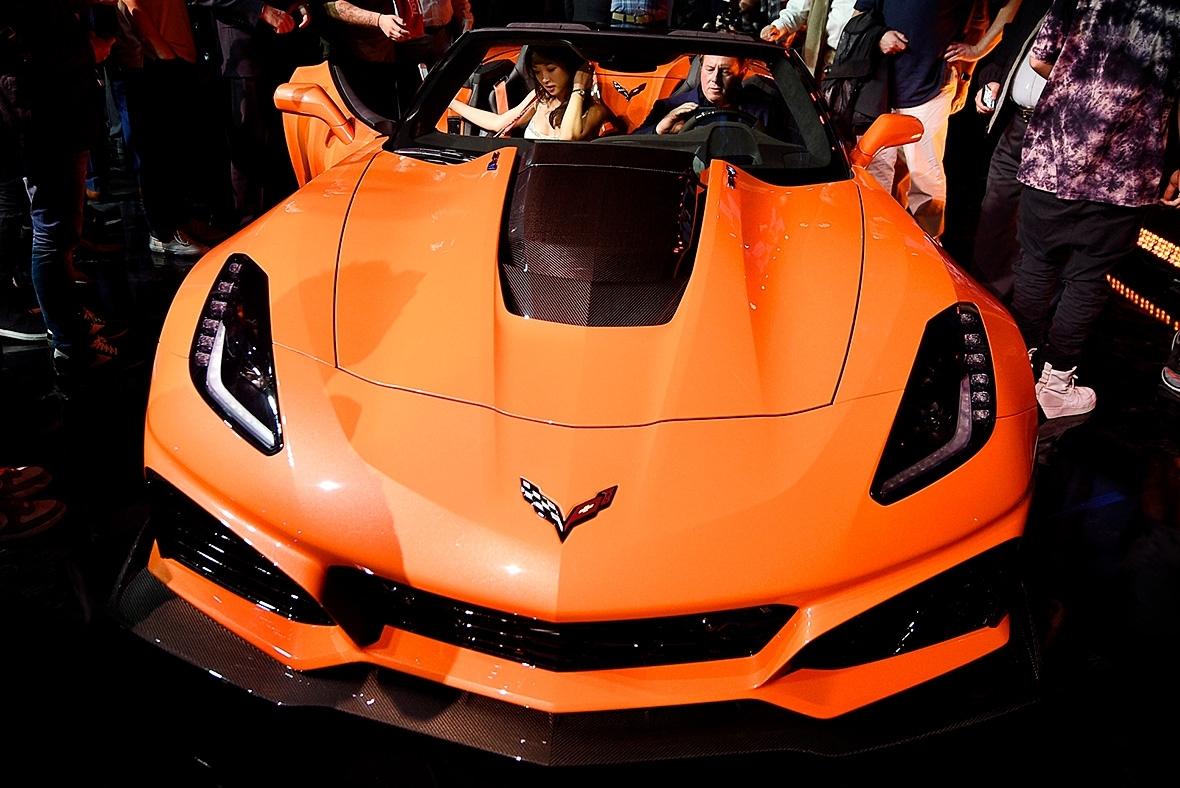 LA Auto Show new Corvette