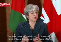 British Prime Minister Theresa May Says Donald Trump Was Wrong To Re-Tweet Far-Right Video