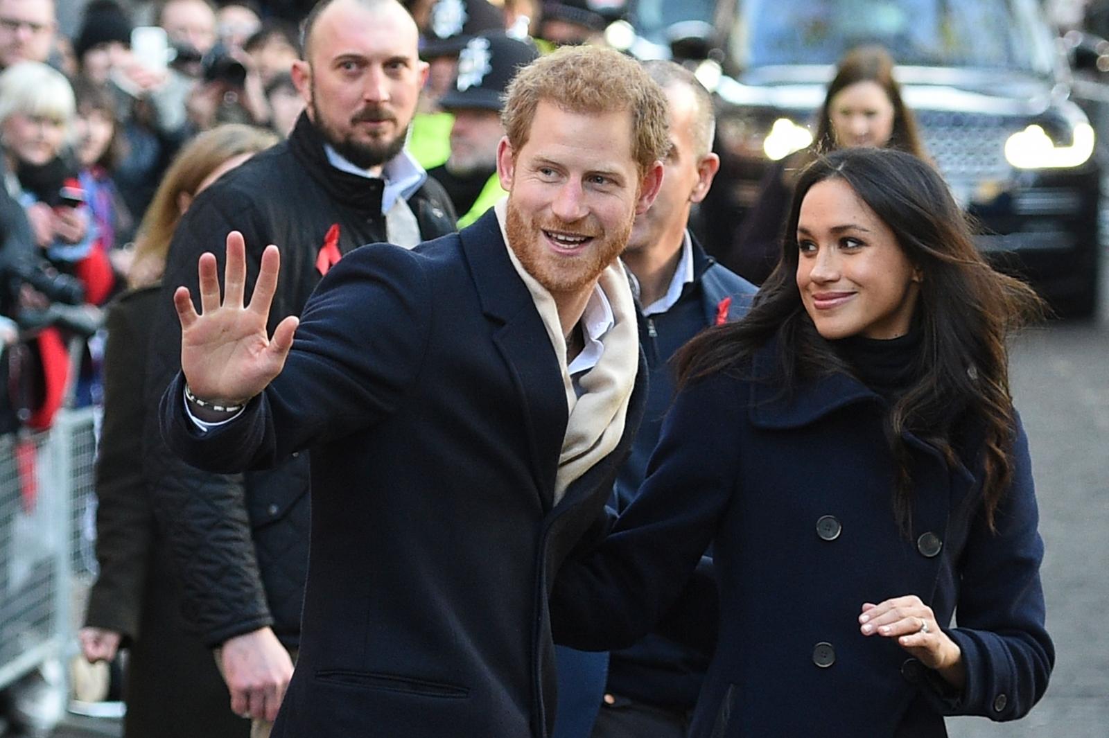 Prince Harry and Meghan Markle's wedding day 'menu' revealed