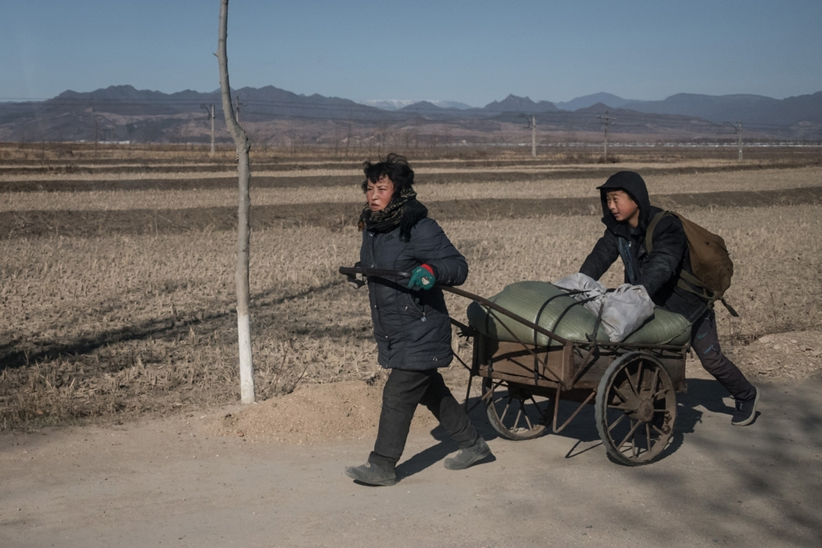 rural North Korea