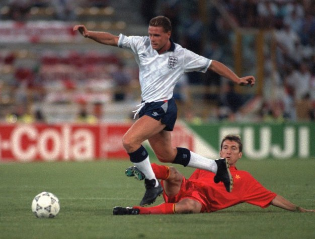 England vs Belgium 1990