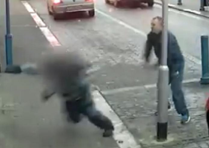 Traffic warden attack