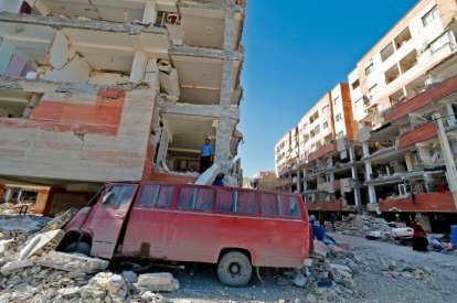 Gravity shift earthquake relief