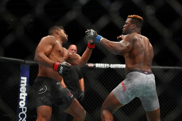Francis Ngannou vs Alistair Overeem