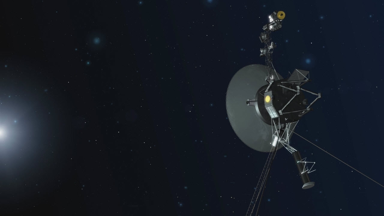 Voyager 1 fires its thrusters for first time since 1980