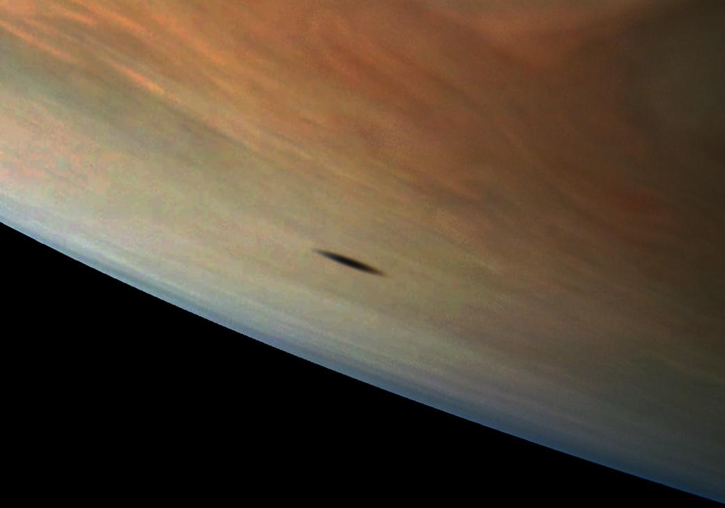 Jupiter moon shadow