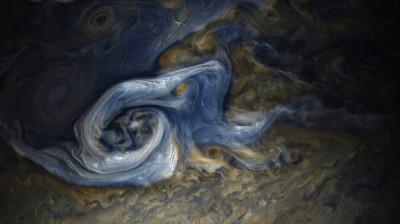 Jupiter northern hemisphere