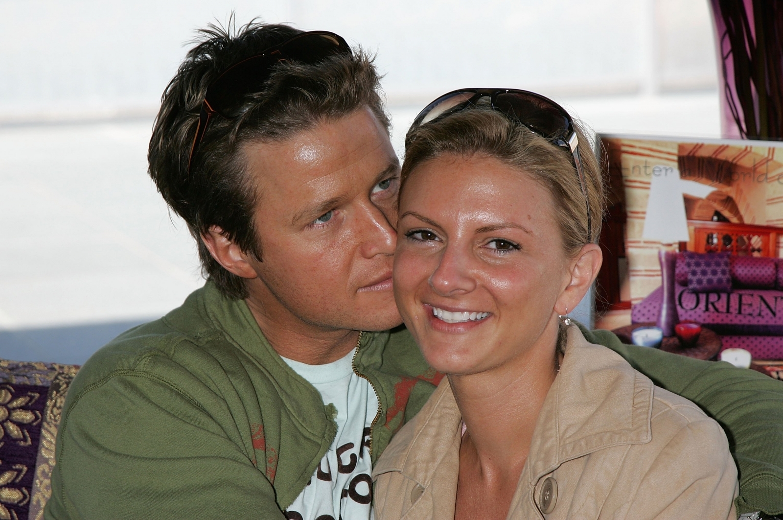 Billy Bush and Sydney Davis