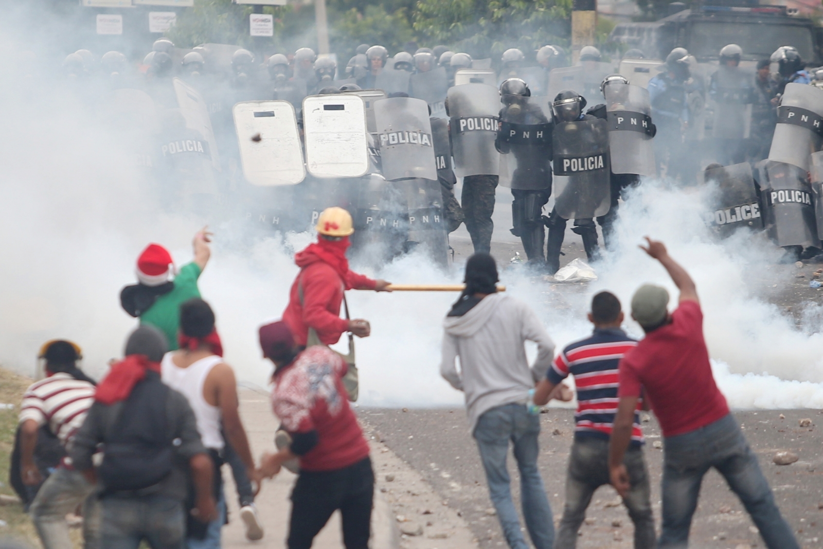 Honduras election protest