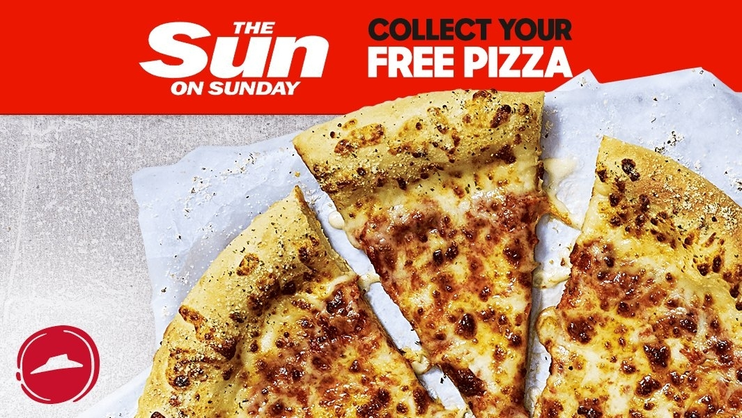 Pizza Hut Sun on Sunday promotion