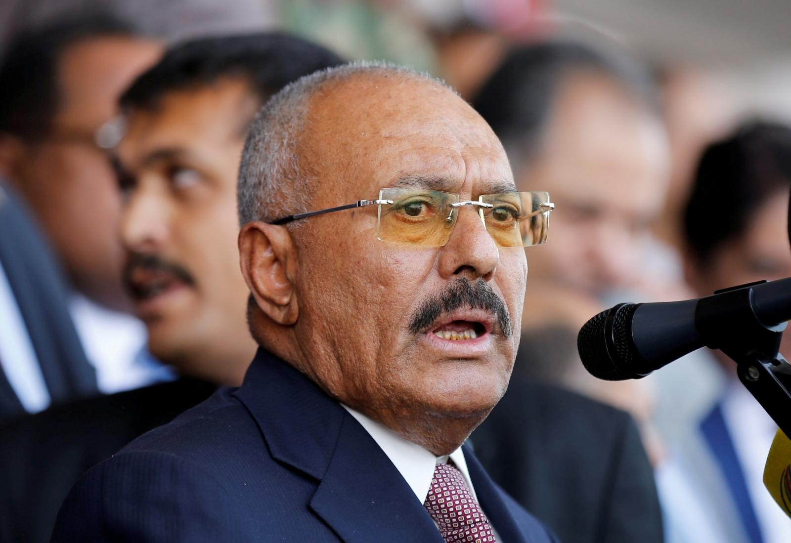 Yemen former president Saleh