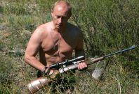 President Vladimir Putin calendar: hunting in July