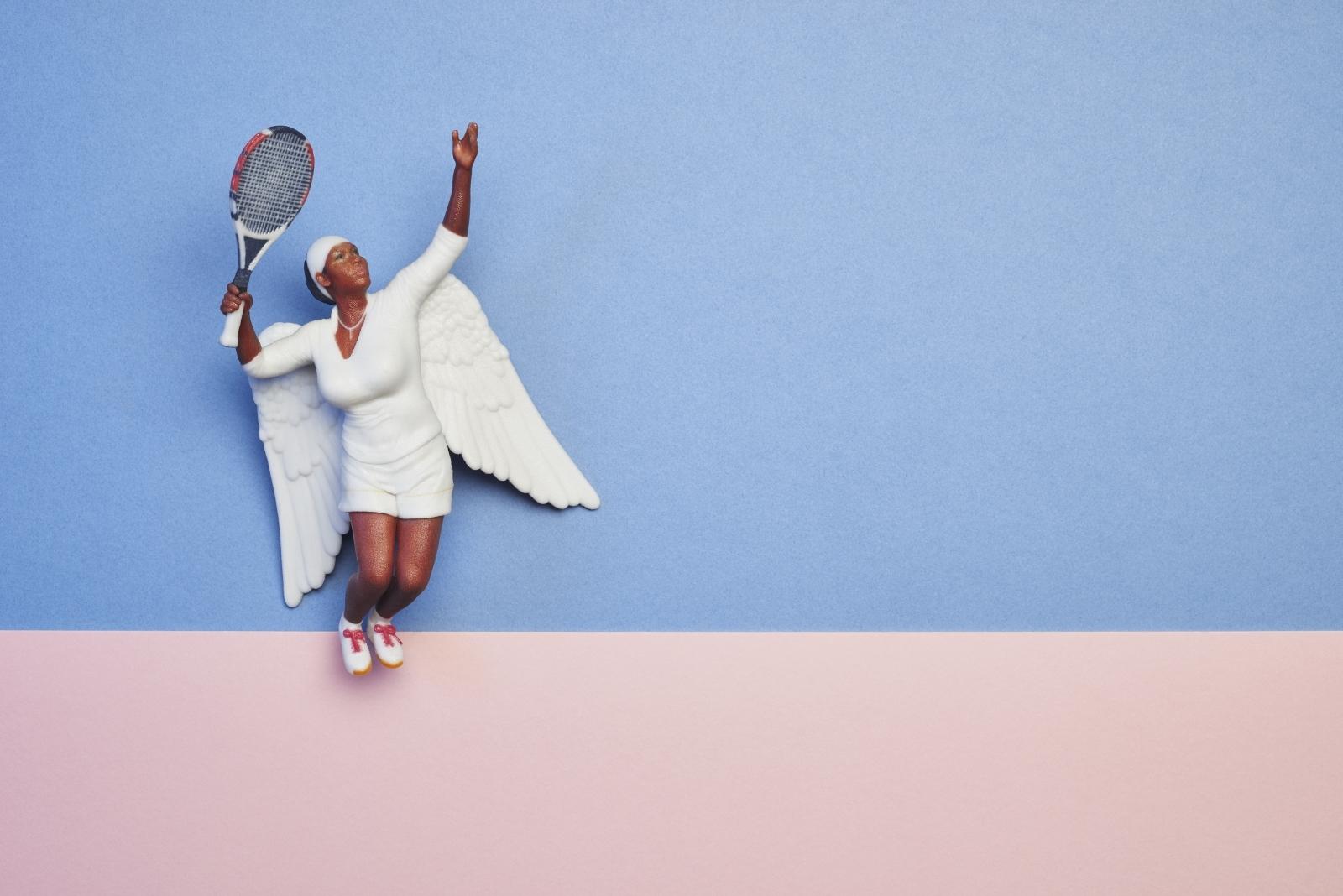 Serena Williams angel