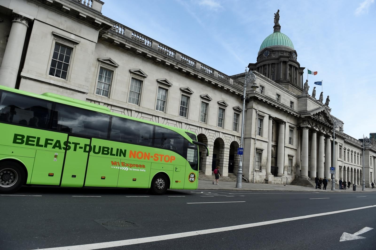 Dublin bus drivers