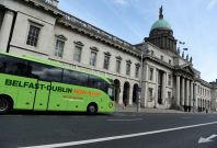 Dublin bus drivers