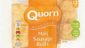 Quorn mini sausage rolls