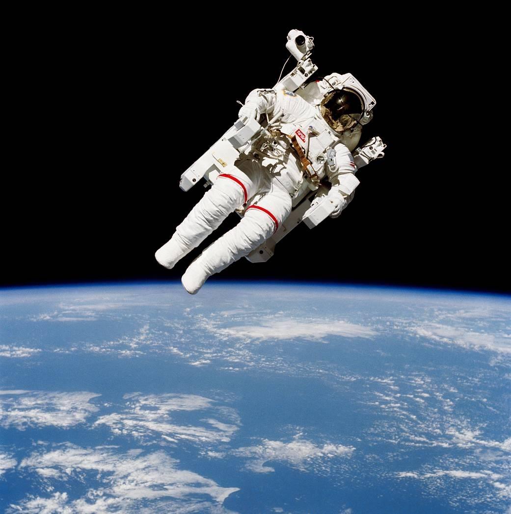 Draper spacesuit